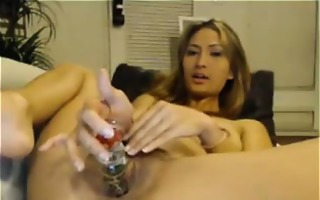 oriental wench with creamy live sex tv