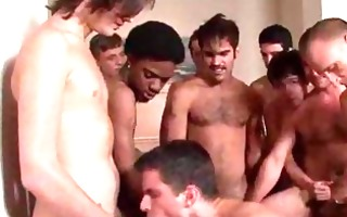 twink acquires butt drilled and facialized in a