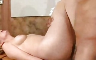 charming blond fuck in the booty and cum inside2
