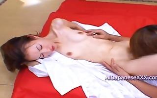 hot whore receives nasty during bukkake