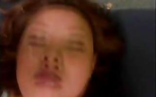 japanese gal takes bukkake facial