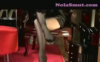 sheer nylons and sexy legs mistress vivian