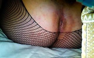 shemale fuck her hole with fake penis