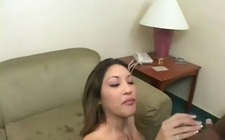 a cheating wife copulates a black man whilst