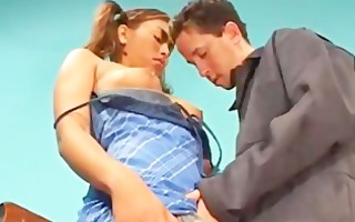 nubile school babe dea fingered by her vicious