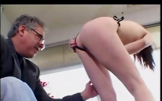 alexia meets director and shows her stuff