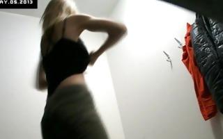 voyeur hidden security cams in changing room