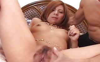 kana kawai in a wild trio getting group-fucked