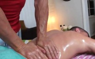 hard homo massage
