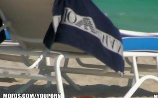 sun tanning bikini babe has her juicy wet crack