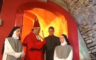 hawt nun can not assist but do anal