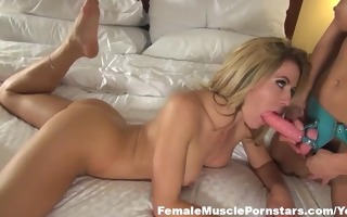 sexy fitness angel on gal fucking