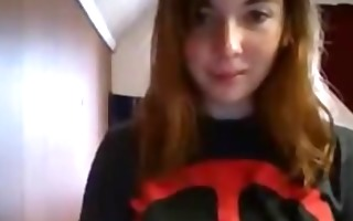 hawt redheaded legal age teenager schoolgirl