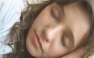 sweet sleeping russian girl banged hard