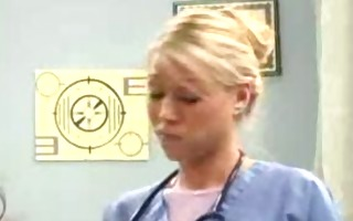 katie morgan:two sexy nurses assist a hard cock