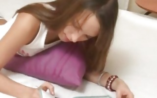 petite titted legal age teenager from eu
