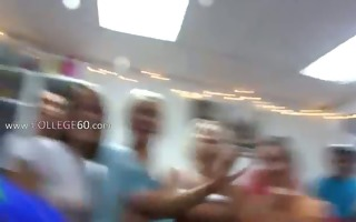 group of horny coeds fucking on college