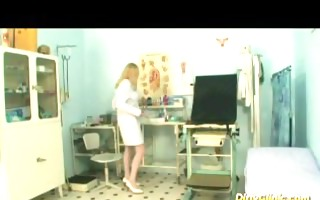 hawt breasty blonde nurse rides wang like insane