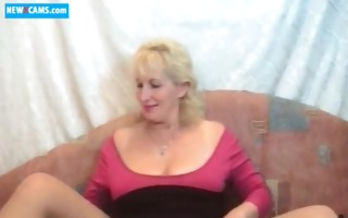 51 russian older livecam show