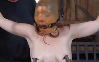 facial punishment for glamorous hottie