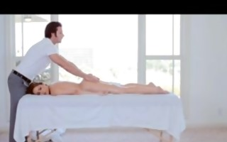 passion-hd hot blond gets tantric massage