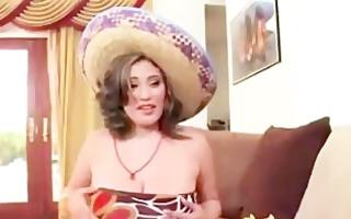 hungry big beautiful woman eats dick and tacos