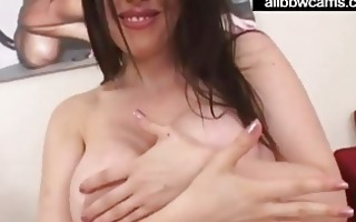 daphne rosen gives a titjob with her biggest juggs