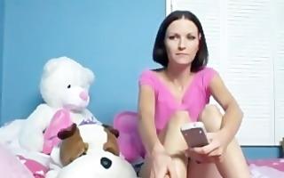babysitter shows off her oral-sex skills