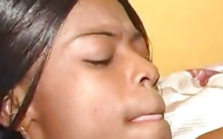 ebony gal with priceless love melons gets pounded