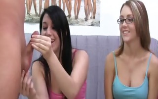 sorority blowjob lesson