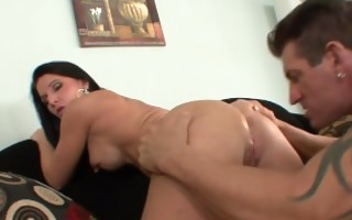 hawt cougar fucked hard by a big knob