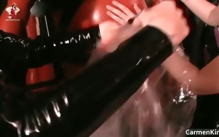 perverted carmen and her redhead ally acquire