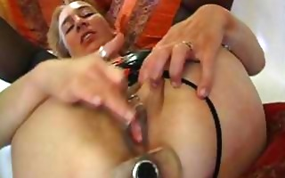 amateur milf is screwed with toys