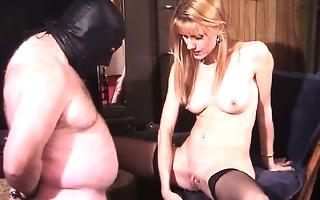 wicked blond milf mistress bizarre femdom piss