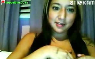 mexican cutie exposes herself on the stickam
