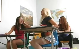 hawt blonde schoolgirl at school