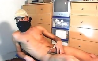 french arab str guy acquire wanked his very