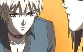 lady-man anime acquires cook jerking and cumshot