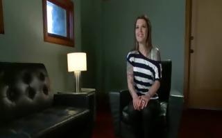 breasty waitress punished