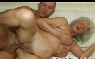 granny golden-haired acquires perspired part2