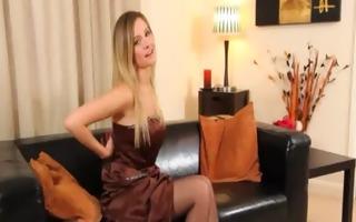 black hose and ultra lovely lingerie