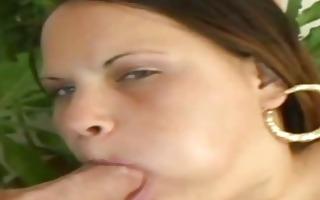victoria fat latin chick devouring a thin dick