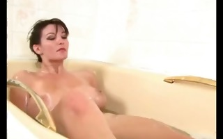 beautiful hotty with very hairy cum-hole playing