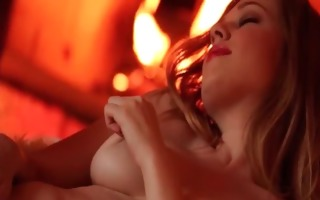 naughty blond babe alaina fox clothed