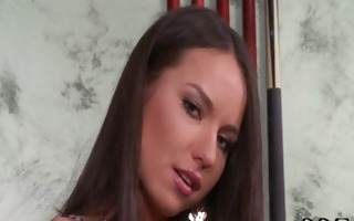 hawt russian chick nataly gold shows her rock