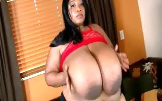 dark big beautiful woman cotton candi copulates