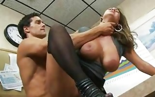 big boobed trina michaels accepts a creamy