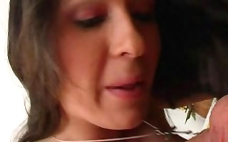 sexy mommy wonderful anal in priceless high heel