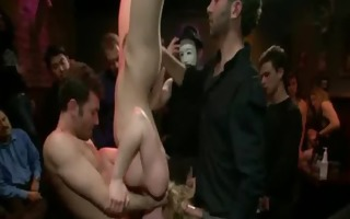 sexy nice-looking babe punished and drilled