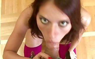 amateur gives really hawt oral-sex here